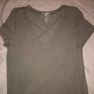 Lightly used comfy gray top.